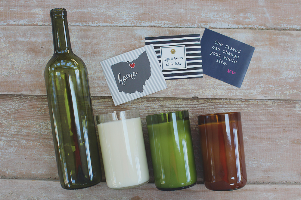Custom Candle Process: Cut, Pour, Personalize, Label