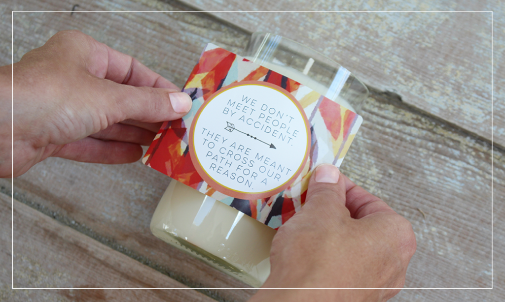 Labels are custom-made with you in mind. Personalize a pre-made design or design your own.