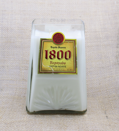 1800 Tequila Hand-Poured Soy Candle | Furbish & Fire Candle Co.