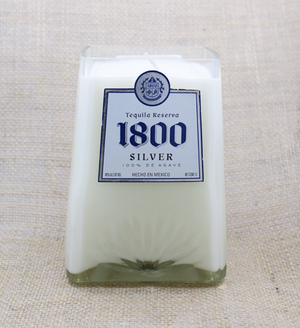 1800 Silver Tequila Hand-Poured Soy Candle | Furbish & Fire Candle Co.