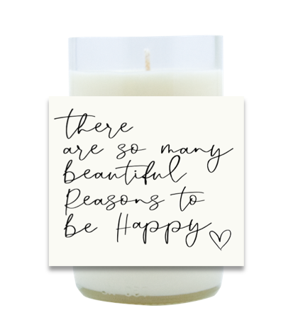 Beautiful Reasons Hand Poured Soy Candle | Furbish & Fire Candle Co.