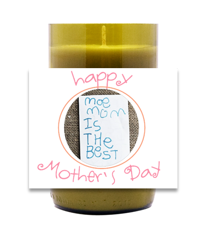 Mother's Day Hand-Poured Wine Bottle Candles | Furbish & Fire Candle Co.
