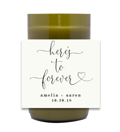 Here's To Forever Hand Poured Soy Candle | Furbish & Fire Candle Co.