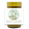 Island Map Hand Poured Soy Candle | Furbish & Fire Candle Co.