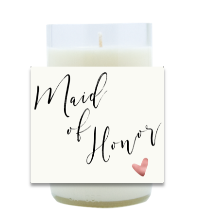 Maid of Honor Hand Poured Soy Candle | Furbish & Fire Candle Co.