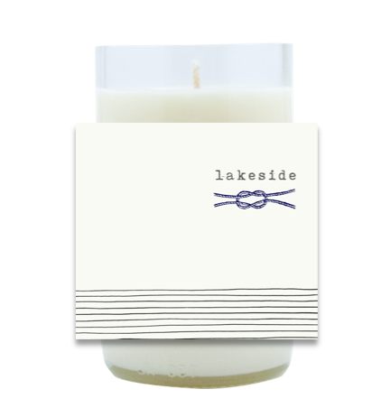 Nautical Rope Hand Poured Soy Candle | Furbish & Fire Candle Co.