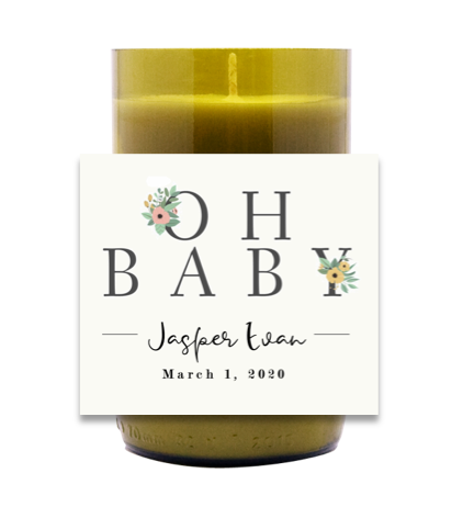 Oh Baby Hand Poured Soy Candle | Furbish & Fire Candle Co.