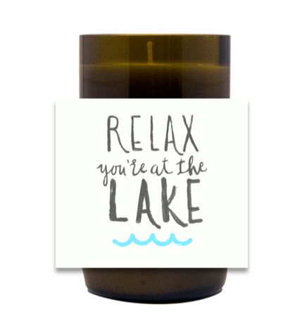 Relax Hand Poured Soy Candle | Furbish & Fire Candle Co.
