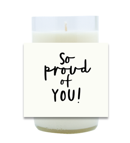 So Proud Hand Poured Soy Candle   Furbish & Fire Candle Co.