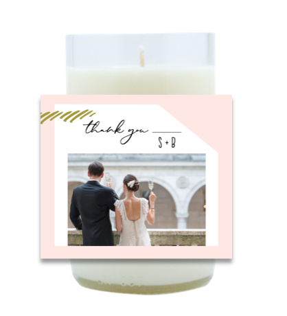Thank You Hand Poured Soy Candle | Furbish & Fire Candle Co.
