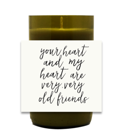 Very Old Friends Hand Poured Soy Candle | Furbish & Fire Candle Co.