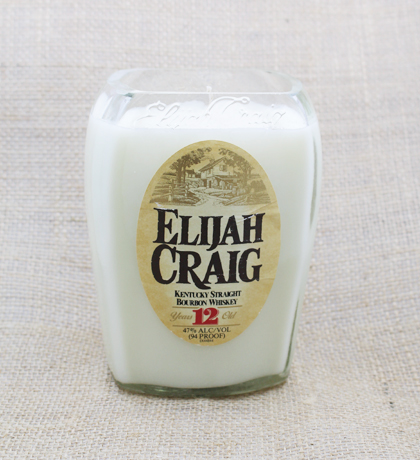Elijah Craig Bourbon Hand-Poured Soy Candle | Furbish & Fire Candle Co.
