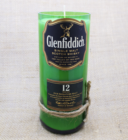 Glenfiddich 12 Year Hand-Poured Soy Candle | Furbish & Fire Candle Co.