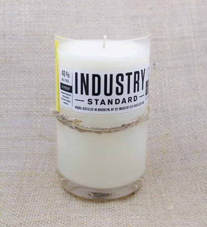 Industry Standard Vodka Hand-Poured Soy Candle | Furbish & Fire Candle Co.