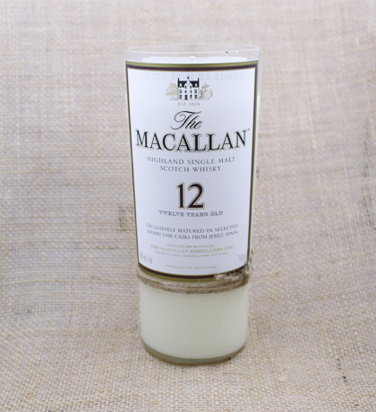 Macallan 12 Year Hand-Poured Soy Candle | Furbish & Fire Candle Co.