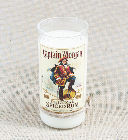 Captain Morgan Spiced Rum Soy-Candle | Furbish & Fire Candle Co