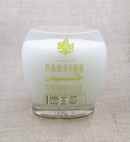 Partidia Reposado Tequila Hand-Poured Soy Candle | Furbish & Fire Candle Co.