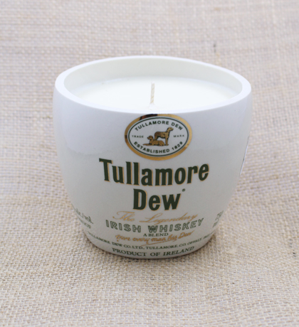 Tullamore Dew Hand-Poured Soy Candle | Furbish & Fire Candle Co.