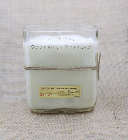 Woodford Reserve Hand-Poured Soy Candle | Furbish & Fire Candle Co.