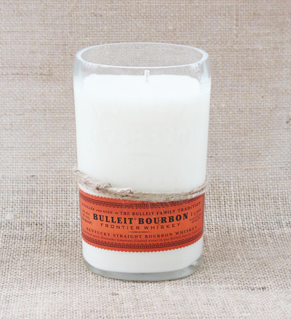 Bulleit Bourbon Hand-Poured Soy Candle | Furbish & Fire Candle Co.