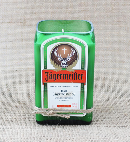 Jagermeister Hand-Poured Soy Candle | Furbish & Fire Candle Co.