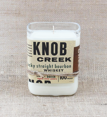 Knob Creek Hand-Poured Soy Candle | Furbish & Fire Candle Co.