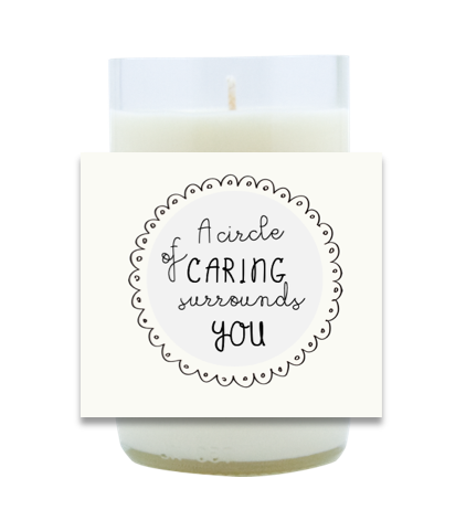 A Circle of Caring Hand Poured Soy Candle | Furbish & Fire Candle Co.