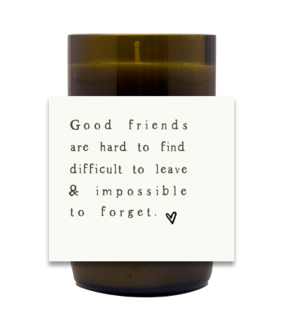 Good Friends Hand Poured Soy Candle | Furbish & Fire Candle Co.