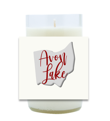 State Love Hand Poured Soy Candle | Furbish & Fire Candle Co.