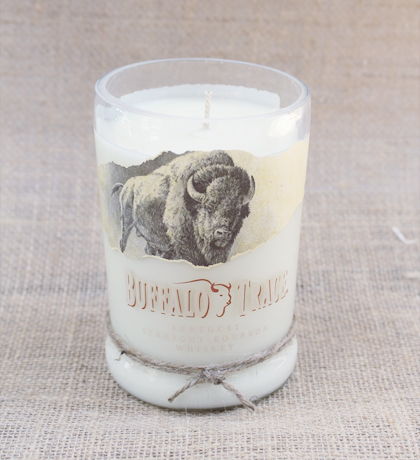 Buffalo-Trace Bourbon Hand-Poured Soy Candle | Furbish & Fire Candle Co.