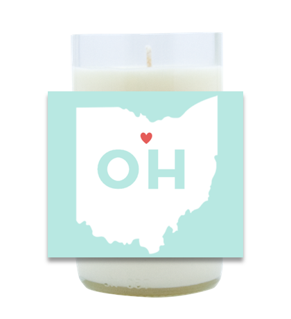 Aqua State Hand-Poured Soy Candle | Furbish & Fire Candle Co.