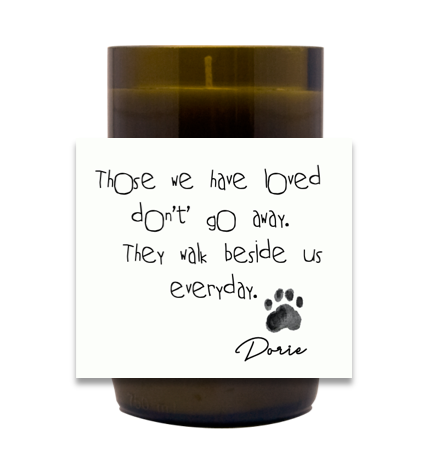 Pet Loss Hand Poured Soy Candle | Furbish & Fire Candle Co.