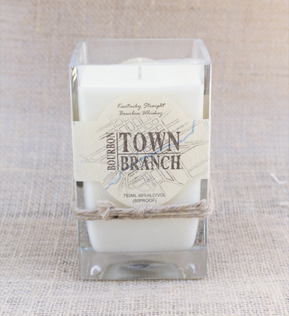 Town-Branch Bourbon Hand-Poured Soy Candle | Furbish & Fire Candle Co.