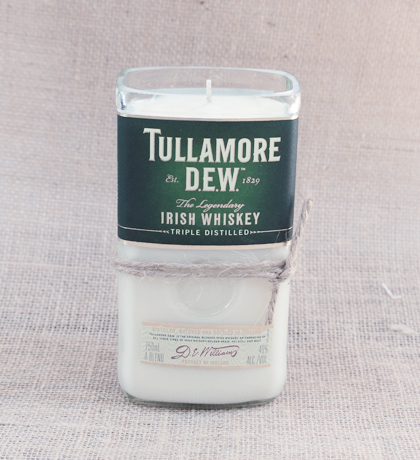 Tullamore-Dew Hand-Poured Soy Candle | Furbish & Fire Candle Co.