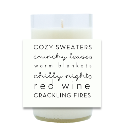 All Things Warm Hand Poured Soy Candle | Furbish & Fire Candle Co.