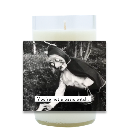 Basic Witch Hand Poured Soy Candle   Furbish & Fire Candle Co.