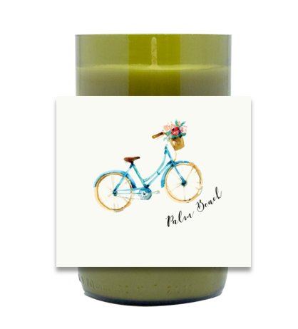 Bicycle Hand Poured Soy Candle | Furbish & Fire Candle Co.