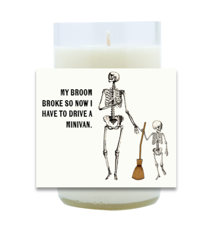 Broken Broom Hand-Poured Soy Candle   Furbish & Fire Candle Co.