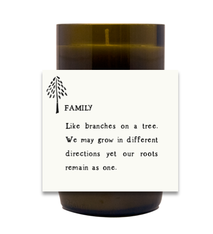 Family Hand Poured Soy Candle | Furbish & Fire Candle Co.