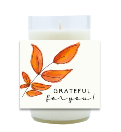 Grateful for You Hand Poured Soy Candle | Furbish & Fire Candle Co.