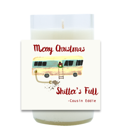 Cousin Eddie Hand Poured Soy Candle | Furbish & Fire Candle Co.