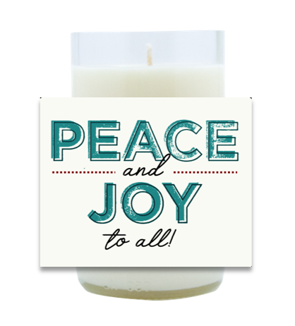 Peace and Joy Hand Poured Soy Candle | Furbish & Fire Candle Co.