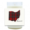 Plaid Home Hand Poured Soy Candle | Furbish & Fire Candle Co.