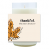 Thankful Hand Poured Soy Candle   Furbish & Fire Candle Co.