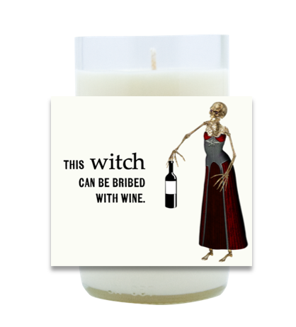 Bribed With Wine Hand-Poured Soy Candle   Furbish & Fire Candle Co.