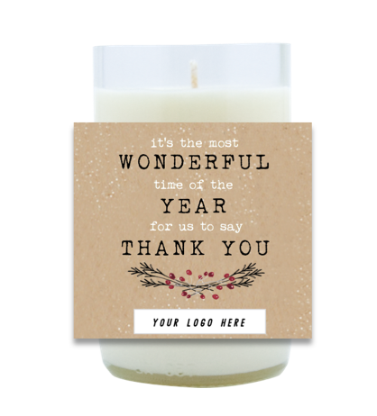 Wonderful Time Business Hand Poured Soy Candle | Furbish & Fire Candle Co.