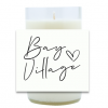 Script City Hand Poured Soy Candle   Furbish & Fire Candle Co.