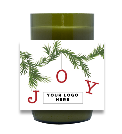 JOY Garland Hand-Poured Soy Candle | Furbish & Fire Candle Co.
