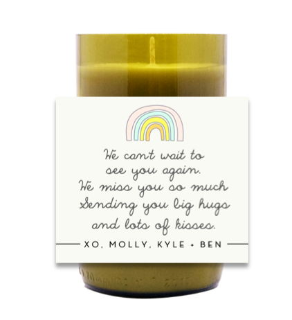 We Can't Wait To See You Again Hand Poured Soy Candle | Furbish & Fire Candle Co.