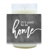 Good to be Home Hand-Poured Wine Bottle Candles   Furbish & Fire Candle Co.